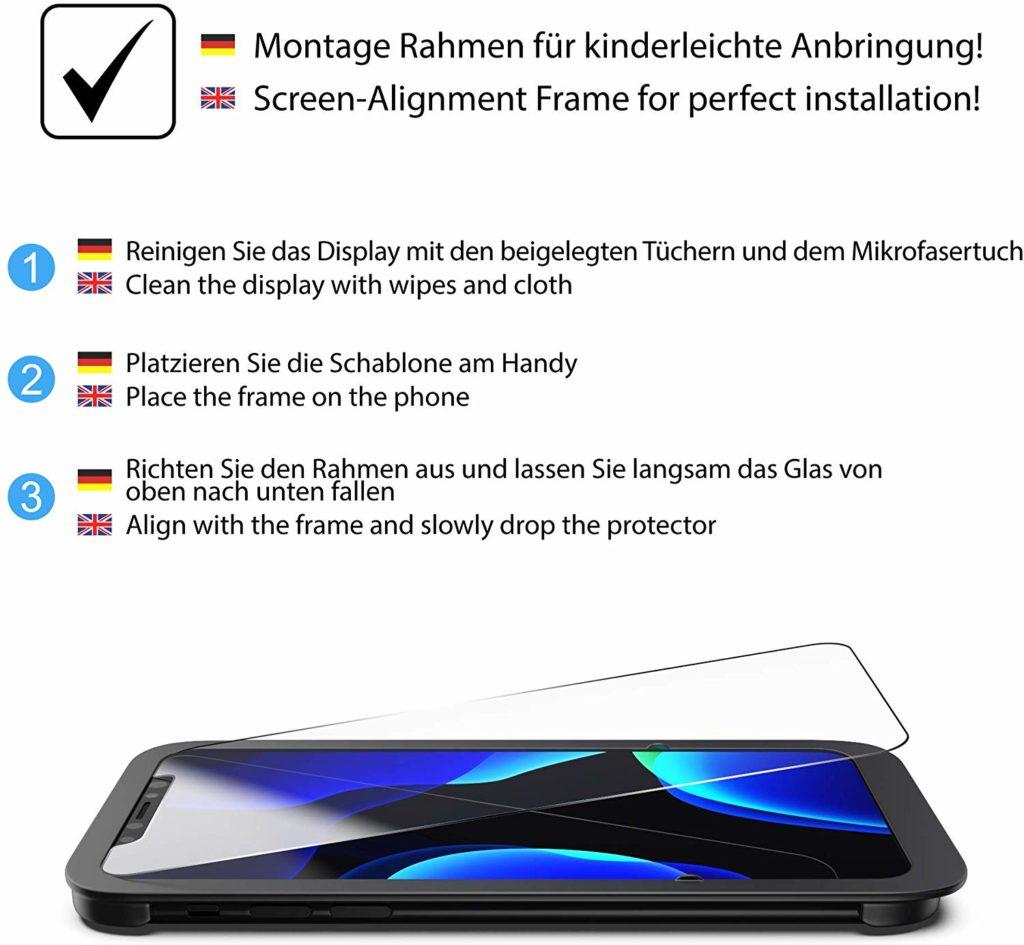 iPhone 11 Pro Max Panzerglas
